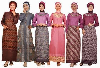 Batik untuk Hijaber dalam Segala Suasana