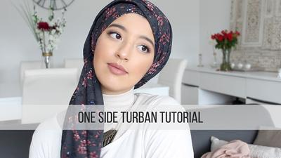 1. One Side Turban