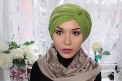 3. Turban Tying a Side Knot