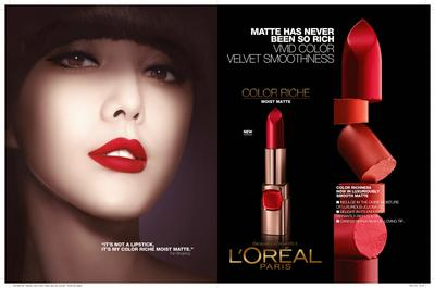 5. L'Oreal Colour Riche Moisture Matte