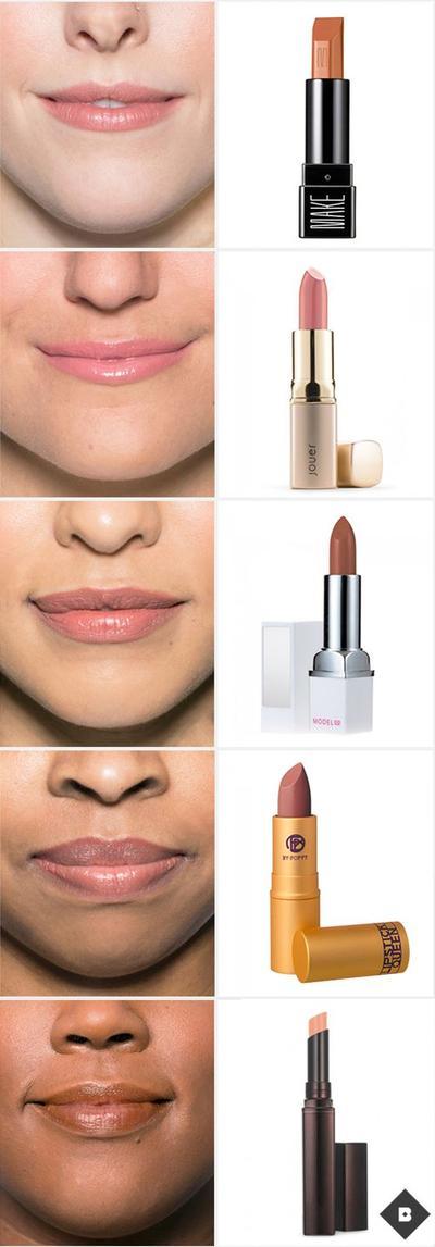 2. Lipstik Nude