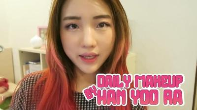 Tutorial Daily Korean Makeup by Vlogger Han Yoo Ra