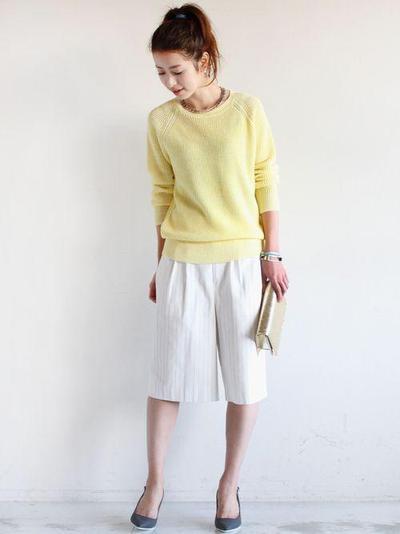 Padukan dengan Sweater atau Pullover