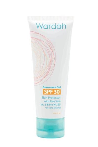 Review: Wardah Sun Care Sunscreen Gel SPF 30