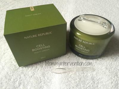 Nature Republic Cell Boosting Night Cream 55 ml