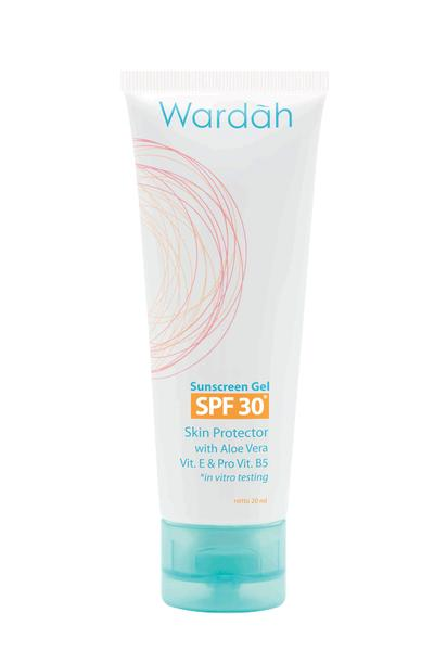 Review: Wardah Sunscreen Gel