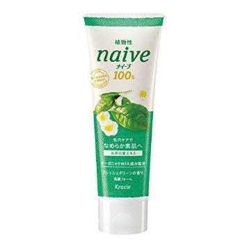 1. Kracie Naive Facial Cleansing Foam Green Tea