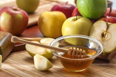 Madu dan Cuka Sari Apel