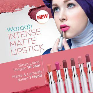 Review: Wardah Intense Matte Lipstick
