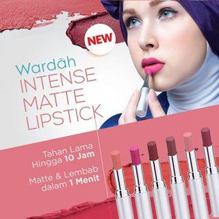 Review: Wardah Intense Matte Lipstick