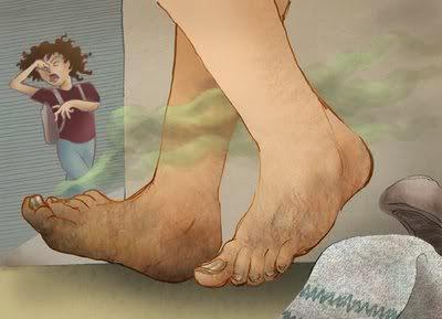 Asal Usul Penyebab Bau Kaki yang Mengganggu