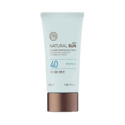 Natural Sun Eco No Shine Hydrating Sun Cream SPF 40 PA+++ dari The Face Shop