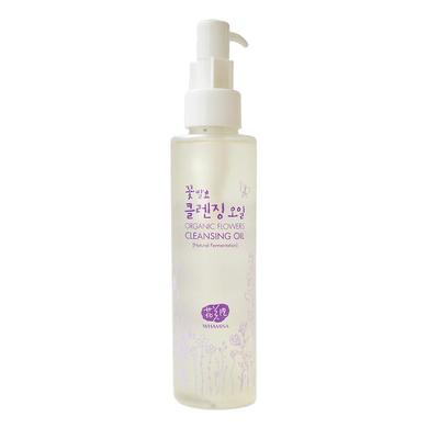 2. Organic Flowers Cleansing Oil