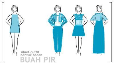1. Model Dress untuk Bentuk Tubuh Pir