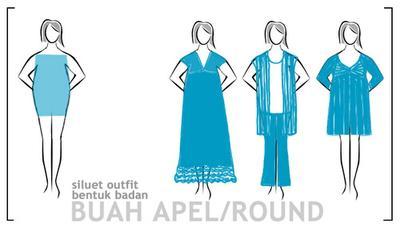 2. Model Dress untuk Bentuk Tubuh Apel