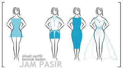 3. Model Dress untuk Bentuk Tubuh Jam Pasir