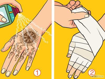 Lindungi Henna dengan Minyak