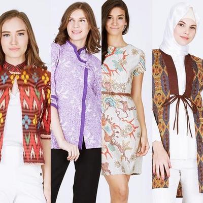 Rekomendasi Busana Kerja Bernuansa Batik