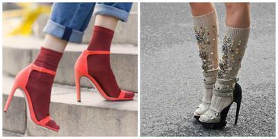 Senada dengan Warna Heels