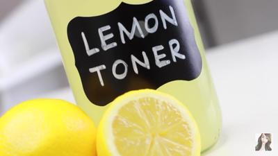 Image result for menggunakan toner lemon