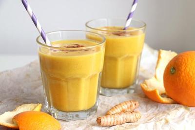Lemon Mango Ginger Smoothie
