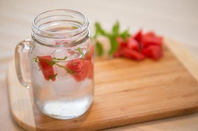 Infused Water dari Semangka