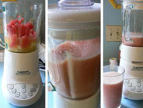 Cara Membuat Smoothie Semangka