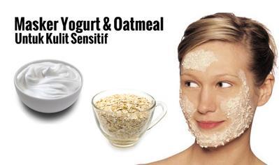 Campuran Yogurt dan Oatmeal