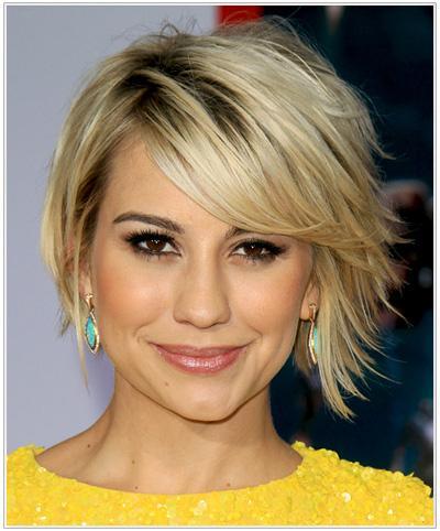 Tips Memilih Gaya Rambut Pendek Untuk Wajah Bentuk Hati Fashion - Gaya rambut pendek depan