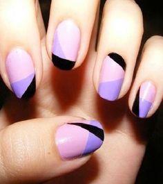 Nail Art Asimetris