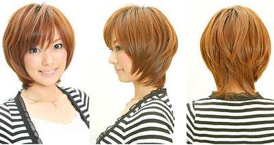 Tips Potongan Rambut Pendek Untuk Kamu Yang Berwajah Bulat - Gaya rambut pendek buat wajah bulat