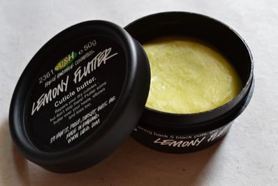 LUSH Lemony Flutter Cuticle Butter