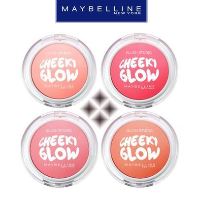 1. Maybelline Cheeky Glow Blush