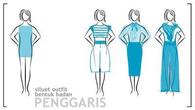 4. Model Dress untuk Bentuk Tubuh Persegi Panjang