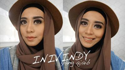 Tutorial Menggambar Alis ala Beauty Blogger Malang Vindy Harfrida