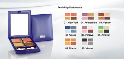 10. Inez Eyeshadow