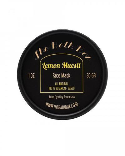 The Bath Box Lemon Muesli Face Mask