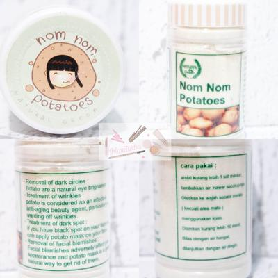 Natural Green Mask Nom Nom Potatoes