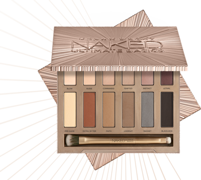 Packaging Urban Decay Naked Ultimate Basics Palette