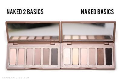Perlu Matte Eyeshadow Palette yang Minimalis?  Pilih Naked Basics atau Naked2 Basics