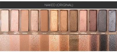 Ingin Eyeshadow Bernuansa Cokelat? Pilih Naked Palette