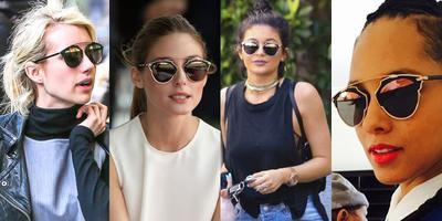 Cat Eye-Round Sunglasses Combination