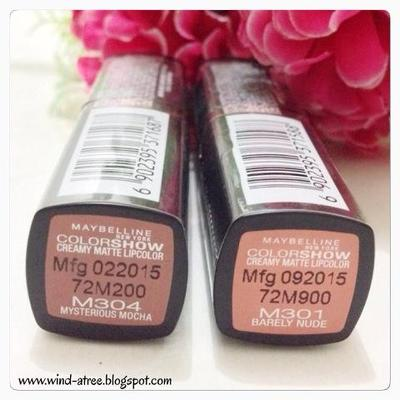 Maybelline Color Show Matte Lipstick
