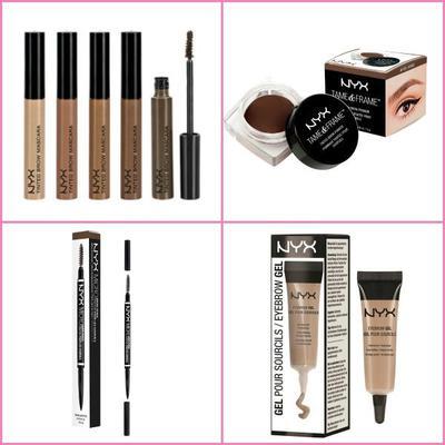 5. NYX EyeBrow Kits