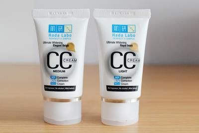 Review: Hada Labo CC Cream Ultimate Whitening & Ultimate Anti Aging