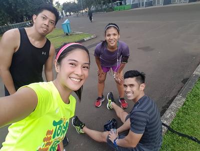 Jogging Setiap Hari Seperti Dian untuk Wajah Terlihat Segar dan Tubuh Langsing