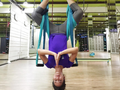 AntiGravity Yoga, Cara Seru Yoga ala Pevita Pearce