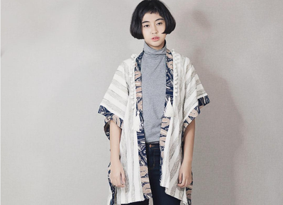Inspirasi Fashion: Kimono Batik ala Evita Nuh