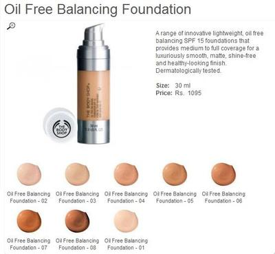 The Body Shop Moisture Foundation