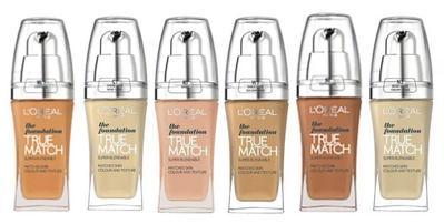 L'Oreal True Match Liquid Foundation